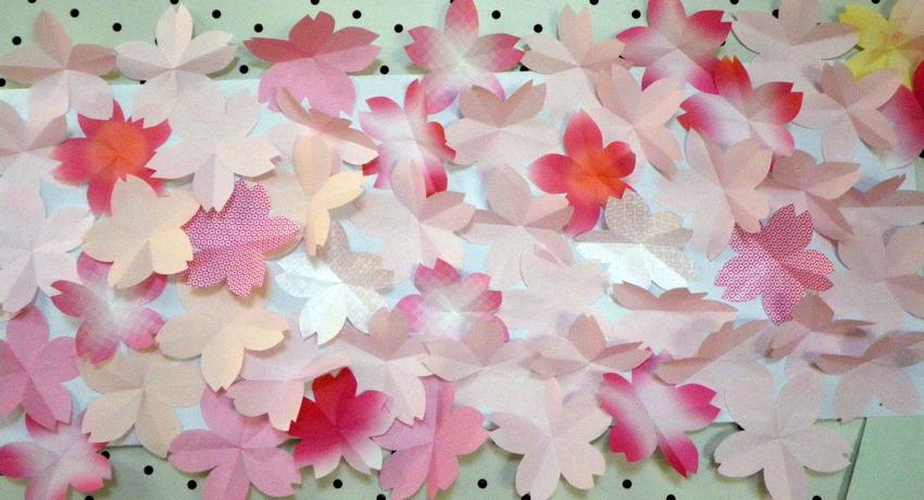 すべての折り紙 桜 花びら 折り紙 : ... 折り紙~いろんなお花 | iemo